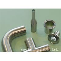 "Quality 3/4"" Clamp Sanitary Valves And Fittings Welded 45 Stainless Steel Elbow wholesale"