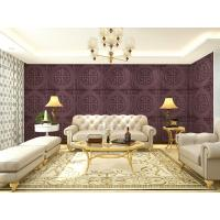 Quality 3D Wallpapers Eco-friendly Leather Decorative Wall Paneling 3D Wall Tiles Chinese Style wholesale