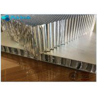 Buy cheap Light Weight Aluminium Honeycomb Material For Railway Trains , 0.05mm Alum Foil Thickness from wholesalers