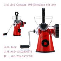 China Shenzhen Stainless Steel Citrus Slow Juicer Wholesale on sale