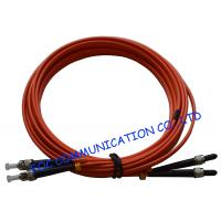 Quality SMA Fiber Optic Patch Cord OM2 Duplex 3 Meters LSZH Jacket Low Insertion Loss wholesale