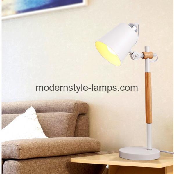 Cheap 16*27*53cm Modern Wood Lamp Energy Saving Interior Decoration Lighting Lamp for sale