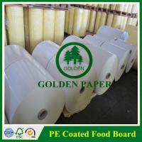 Cheap 140gsm-350gsm cupstock base paper without PE/PE coated for sale