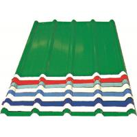 Quality Red/ Blue/ White Corrugated Metal Sheets , Recyclable Steel Sheets - Roof/Wall wholesale