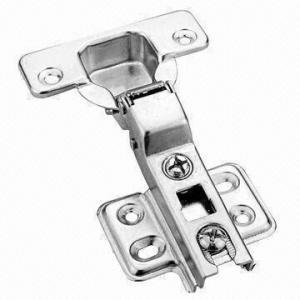 China Two-way Door Hinge/Standard Cabinet Hinge, Half Overlay Type on sale