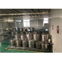 Quality Jacketed Stainless Steel Mixing Tanks With Circulating Heating System wholesale
