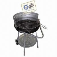 Quality BBQ Grill, Made of Iron, Powder-coated, Porcelain Enameled and Painting wholesale