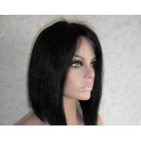 Quality Professional Lace Front Human Hair Wigs 8 Inch Short Wigs wholesale