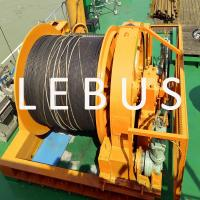 Quality Hydraulic Marine Offshore Platform Or Drilling Rig Boat Towing Winch wholesale