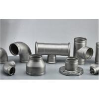 Quality Stainless Steel Grooved Pipe Fittings With Sandblasting / Polishing Surface Treatment wholesale