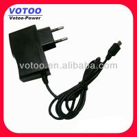 Quality 5V 1.5A Micro USB Switching Power Adapter Wall Mount Type 7.5 Watt 50Hz / 60Hz wholesale