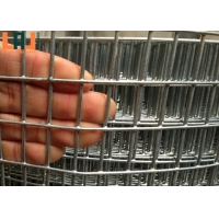 Silver 50x70 Galvanized Welded Wire Mesh Rolls For Fencing for sale