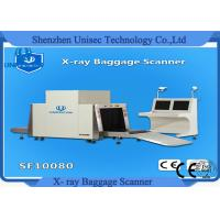 Cheap High Powerful 10080 X Ray Airport Baggage Scanner Single Operation Table for sale