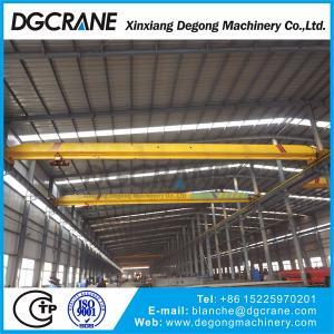 Quality 5T single girder overhead crane with electric hoist wholesale