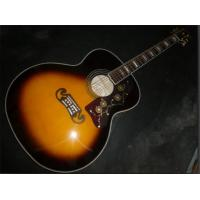China SJ200 Electric acoustic guitar sunburst color popular HOT SELL on sale