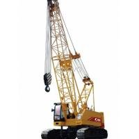 Quality Strong Hoisting Capacity Hydraulic Crawler Crane With High Strength Steel Pipe wholesale