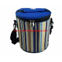 Quality Cylindrical reusable travel cooler shoulder bag with large compartment wholesale