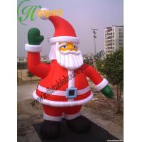 China Giant Inflatable Santa Claus For Inflatable Holiday Yard Decorations Rental on sale