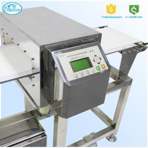 Quality FDA Standard Auto Conveyor Belt Food Grade Metal Detector 304 Stainless Steel wholesale
