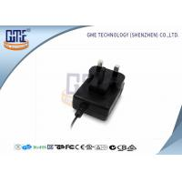 Quality GME Power Adapter UK Plug Intertek AC DC Adaptor 12v Low Ripple wholesale