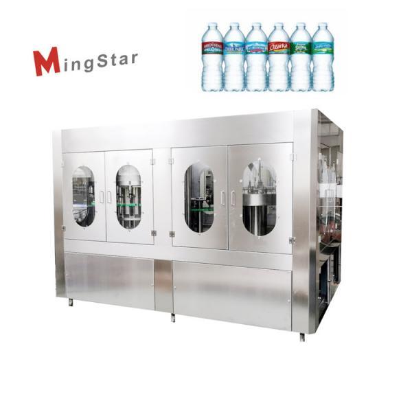 Cheap Plastic 500 Ml Mineral Water Bottle Plant , Automatic Pet Bottle Filling Machine for sale