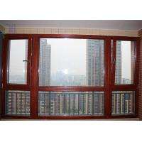 Residential Aluminium Tilt And Turn Windows Mechanism With Toughened Glass