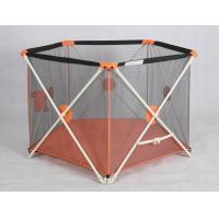 Quality Outside Folding Portable Playpens For Babies / Adjustable Child Playpen Fence for sale