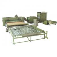 Quality Polyester Wadding Production Line Quilt Auto Filling Line 110kw 3400mm wholesale