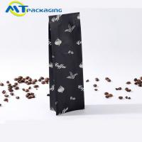 Auminum Foil Plastic Side Gusset Coffee Packaging Bags Customized Size Moisture Proof