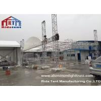 Quality Silver Aluminum Stage Light Truss , Truss Rigging Equipment For Wedding Party wholesale