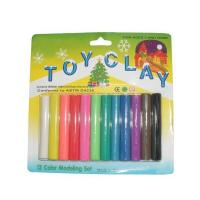 Quality colorful playing non-toxic kids color modeling plasticine Poly fleece clay wholesale