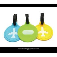 China Personalized silicone luggage tag hard plastic luggage tag bag tag on sale