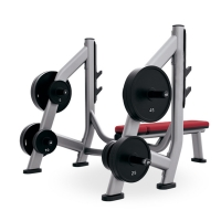 Quality Black Silver Color Weight Bench And Squat Rack Rust Proof Surface Treatment wholesale