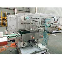 China Plastic Film Packaging Machine For Box Packing PLC Control System on sale