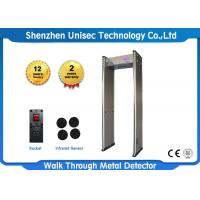 Quality Walk Though Metal Detecting System Archway Metal Detector Security Gate LCD Display wholesale