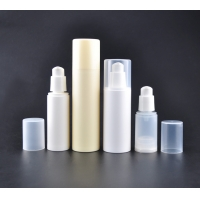 China Sustainable 30ml 60ml 80m PCR PP Airless Cosmetic Bottle on sale