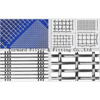 Metal Wire Crimped Woven Mesh Used in Mining Petroleum Chemical Construction