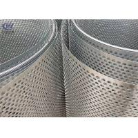 Quality Round Hole Perforated Metal Sheet Punching Mesh Stainless Steel wholesale