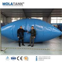 China Molatank Large Size PVC plastic collapsible Marine Collapsible Pillow Shape Bladder Tank on sale