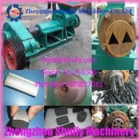 China coal and charcoal extruder machine Silver charcoal briquette machine on sale