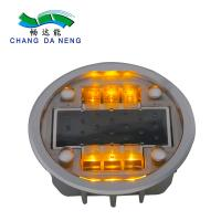 Quality Waterproof IP 68 Solar Led Road Studs Warning Lane Marker Long Service Lifespan wholesale