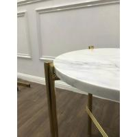 Cheap White Marble Stone Countertops Modern Center Coffee Table Tops For Living Room for sale