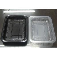 Buy cheap 222*170mm Disposable Plastic take away food tray suitable for sealing film cover product