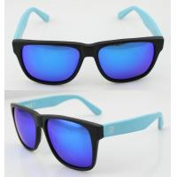 Quality Fashion Custom Blue Acetate Frame Sunglasses , Vogue Sun Glasses wholesale