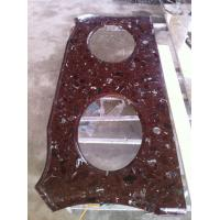 Quality Onyx , traertine Solid Surface Kitchen Countertop for Bar Top , customized wholesale