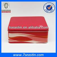 China moon cakes packaging containers tin&gift cosmetic tin cans&tin box on sale