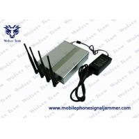 20% - 95% RH Remote Control Signal Jammer , Cell Phone Signal Blocker Device 60 Meters