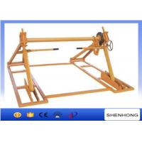 Quality SIPZ-7 70KN Integrated cable reel drum stand with disc tension brake wholesale