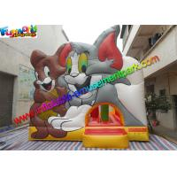 Quality Amazing Tom And Jerry Commercial Bouncy Castles Inflatable Jumping House Water - Proof wholesale