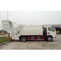 Quality RHD 4X2 Garbage Collection Truck , Commercial Trash Compactor Truck 6CBM wholesale